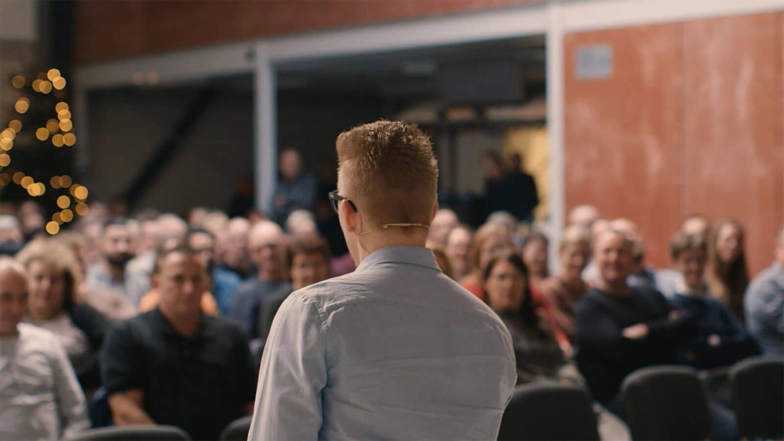 Foredrag om motivation, forandring og udfordringer