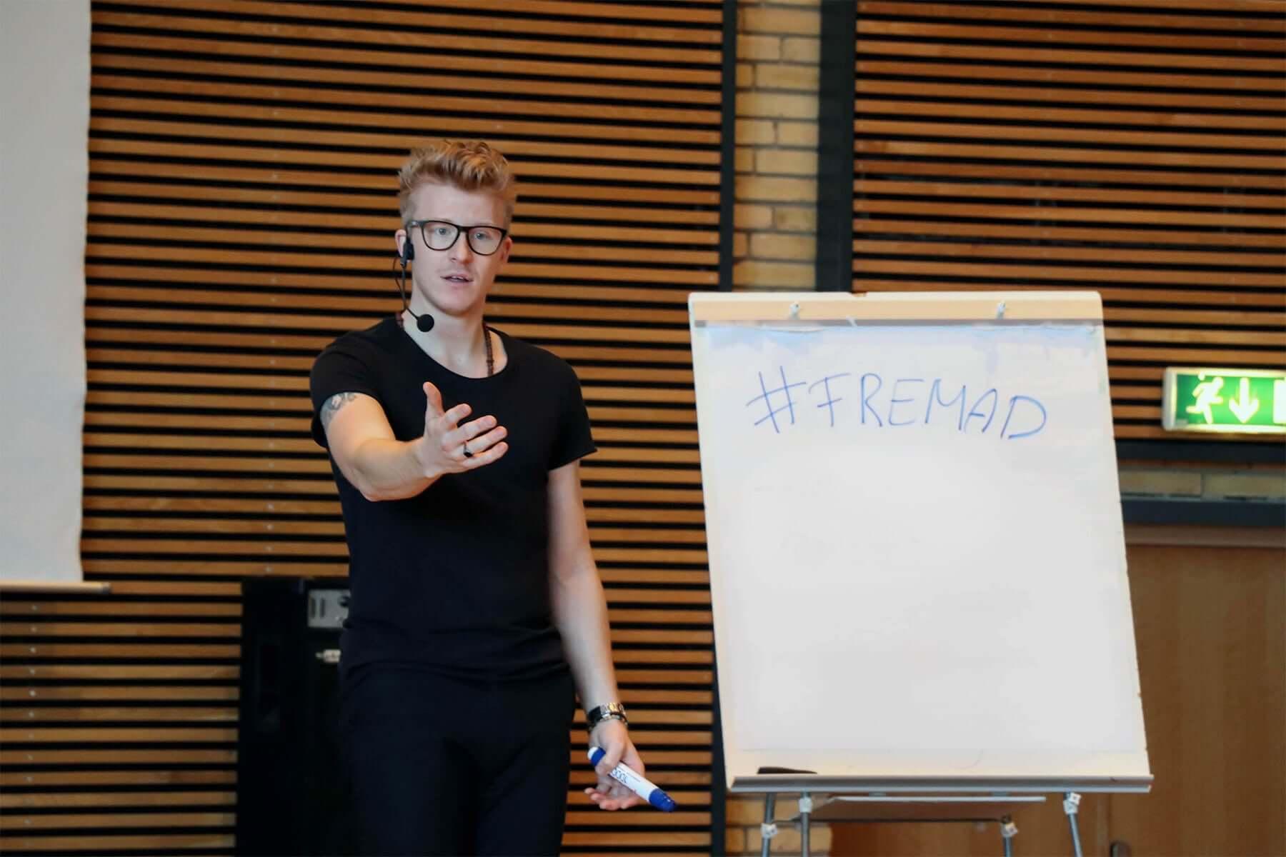Motivation og forandringer i hverdagen med foredragsholder Mads